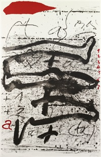 composition by antoni tàpies