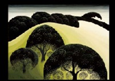 graceful oaks by eyvind earle