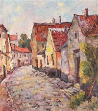 street from sebeș by traian cornescu