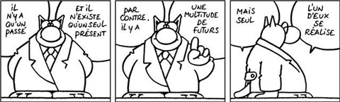 passé present future by philippe geluck