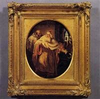 episodio di storia veneziana (il doge foscari?) by ottone klum