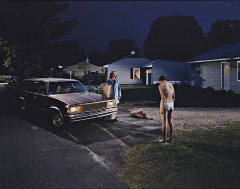 untitled penitent girl from the twilight series by gregory crewdson