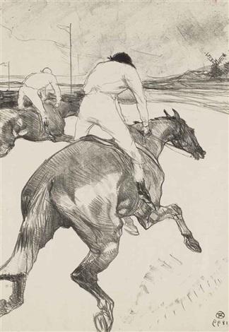 le jockey by henri de toulouse lautrec