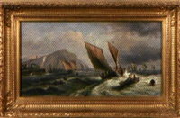 le départ des pêcheurs by arthur tomson