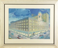 downtown rochester by ralph hillyer avery