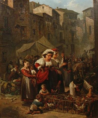 market day by francisco javier amerigo y aparici
