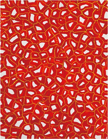 beyond the labyrinth infinity nets by yayoi kusama