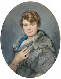 portrait d'élégante by marcel andre baschet