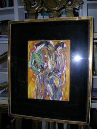 abstract in gold by rodney gladwell