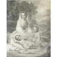madonna con bambino e san giovannino by natale schiavoni