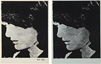 not warhol (jackie) (2 works) by mike bidlo