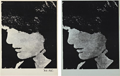 not warhol jackie 2 works by mike bidlo