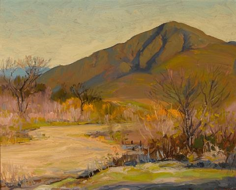 san miguel mountains by alfred richard mitchell