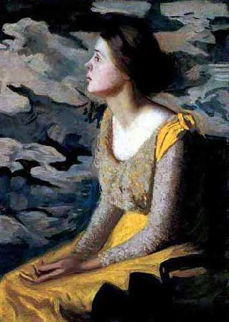 the yellow dress by philip leslie hale