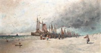arrival of the fleet by george bunn