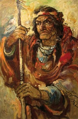 male portrait 02 by salvador cabrera