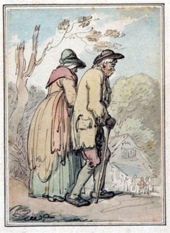 the daily stroll by thomas rowlandson