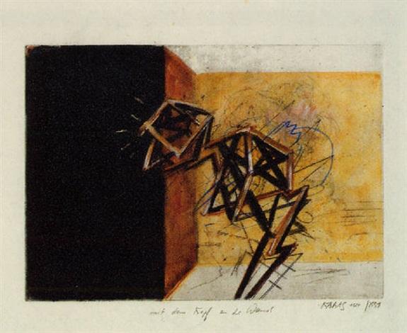 """""""mit dem kopf an die wand"""" by robert kabas"""