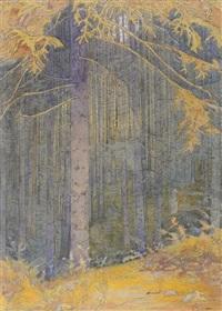 sous bois by auguste morisot