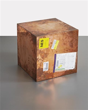 20 inch copper fedex® large kraft box 2005 fedex 330508 international priority los angeles london trk862012042283 december 8 by walead beshty