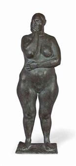 desnudo de pie (marta) by francisco zúñiga