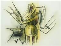 composition by wifredo lam