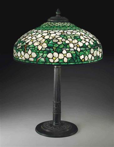 Dogwood Table Lamp By Tiffany Studios