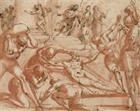 le martyr de saint laurent by francesco allegrini