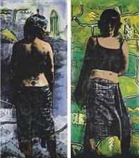 sans titre (2 works) by khosrow hassanzadeh