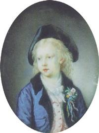 portrait d'un jeune homme à la boutonnière by joseph boze