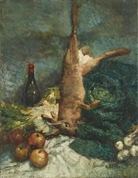 nature morte by alfred théodore joseph bastien