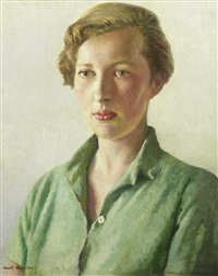 portrait of sue palmer by harold harvey