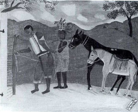 bringing the mules home by sénèque obin