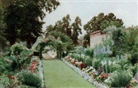 my garden, applegarth, claygate, surrey by cyril ward