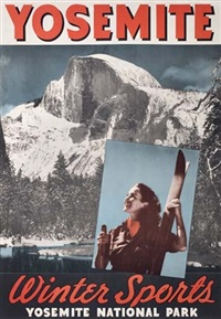 yosemite/winter sports by posters: sports