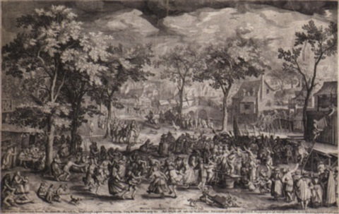 dorffest by willem isaaksz swanenburgh the elder