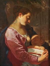 vierge à l'enfant by flaminio torre