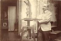 antonin mercié, sculpteur en octobre by paul marsan dornac