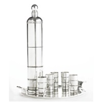 seven-piece cocktail set (from international giftware) by lurelle guild