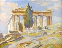 l'acropole by louis adolphe riou