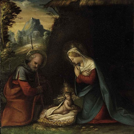 the nativity by benvenuto tisi da garofalo