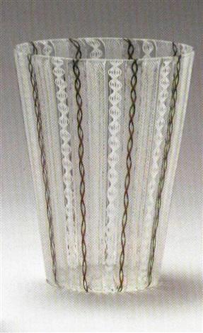 Cone Shaped Vase By Paolo Venini On Artnet
