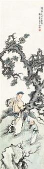 敬爵图 by xu cao