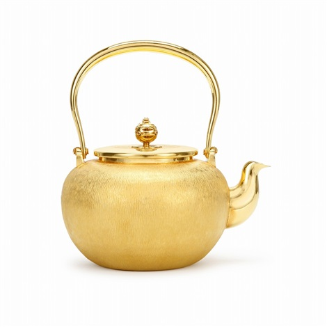 pure gold pot