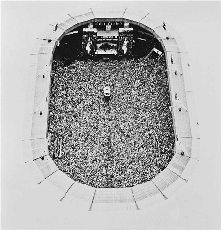 live aid area view of wembley stadium london 13 july by jason fraser