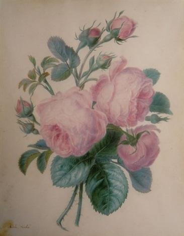 branche de rosier by adèle riché