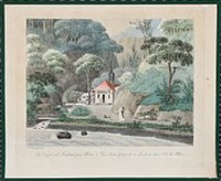 five summer landscapes from moen in denmark (5 works) by síren laessoe lange