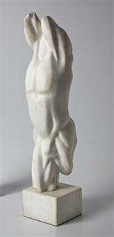 male torso by caroline van der merwe