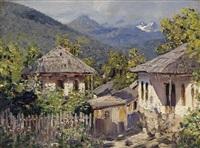 mountain village by nikolai nikanorovich dubovskoy