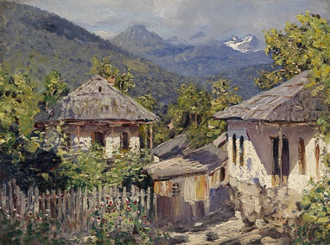 mountain village by nikolai nikanorovich dubovskoy
